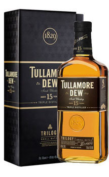 Tullamore Dew Whiskey Trilogy 15 Year