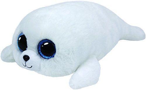 Icy-Medium Beanie Boo Seal