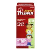 Tylenol Children's Liquid, Dye Free - Bubblegum Burst, 100 mL