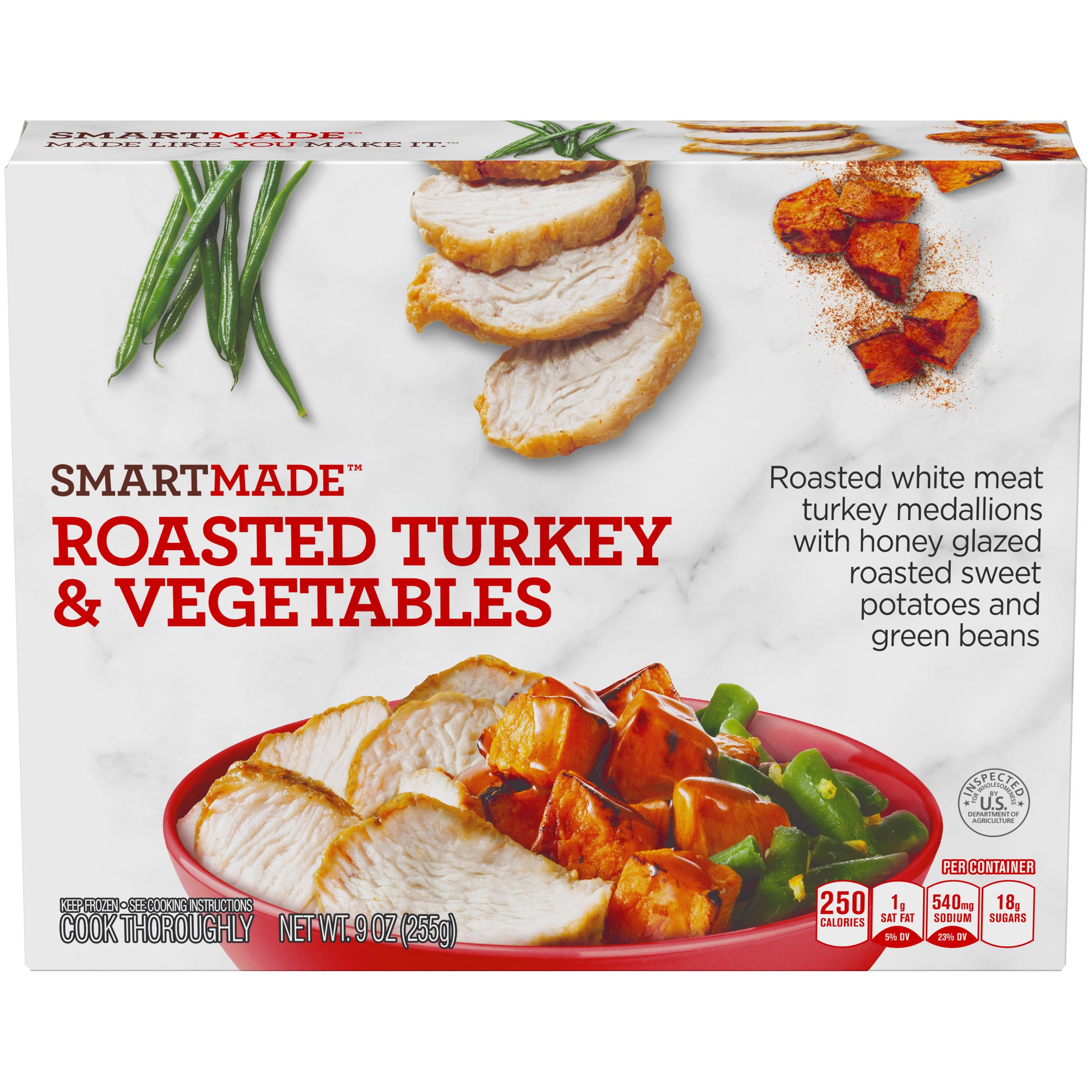 Smart Made Smart Made Roasted Turkey & Vegetables