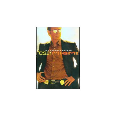 Csi: Miami - The Complete Seventh Season [7 Discs] (dvd)