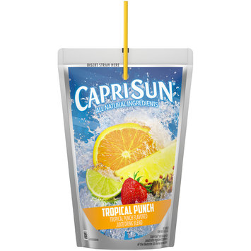 Capri Sun Tropical Punch Ready-to-Drink Soft Drink