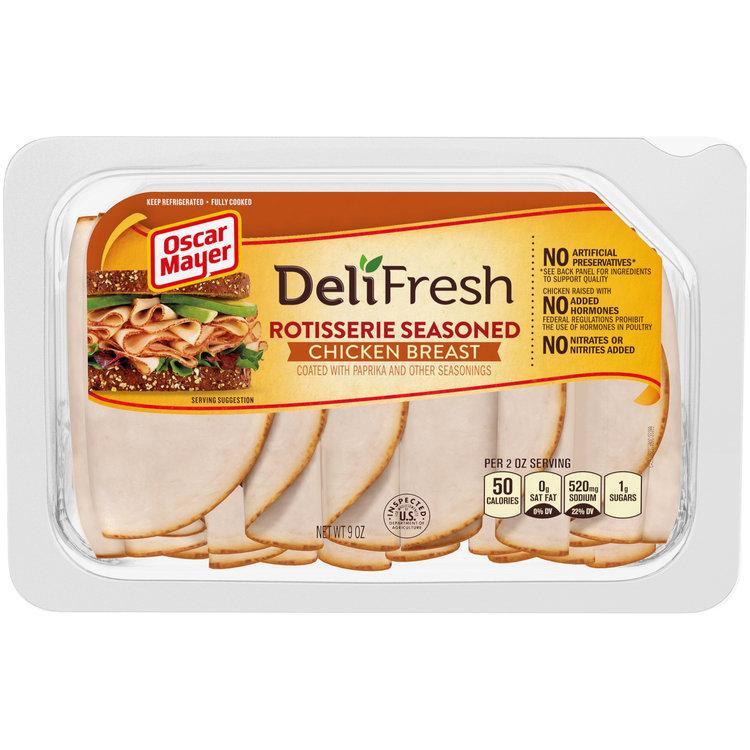 Oscar Mayer Deli Fresh Rotisserie Chicken Breast