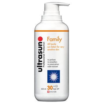 Ultrasun SPF30 Family Sun Cream, 400ml
