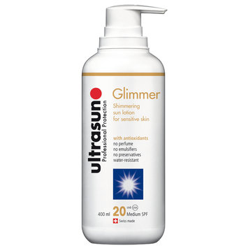 Ultrasun Sensitive Glimmer SPF 20 400ml
