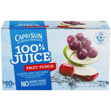 Capri Sun 100% Juice Fruit Punch Ready-to-Drink Soft Drink