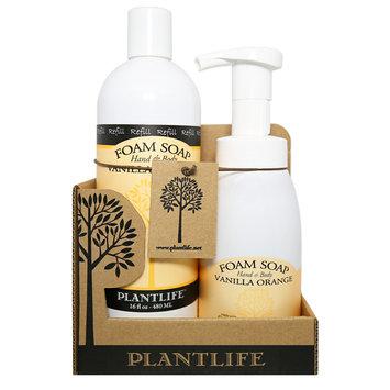 Plantlife Vanilla Orange Foam Soap Value Set