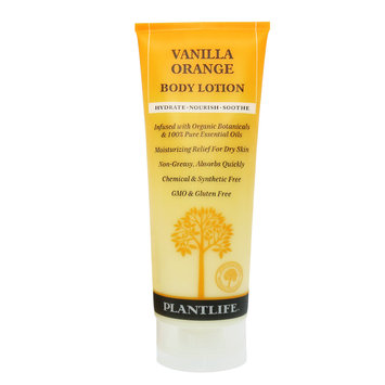 Plantlife Vanilla Orange Natural Body Lotion - 8 oz