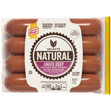 Oscar Mayer Selects Angus Beef Franks