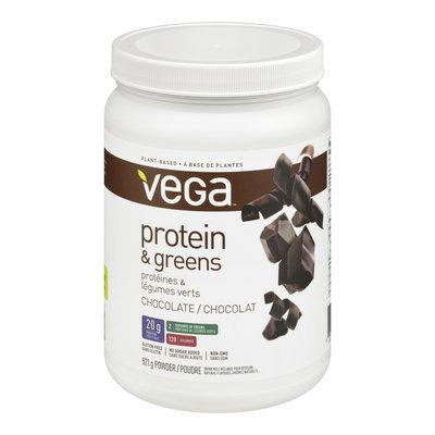 Vega Protein & Greens Protein Powder, Chocolate, 521 g