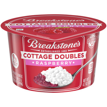 Breakstone's Cottage Doubles Raspberry Cottage Cheese