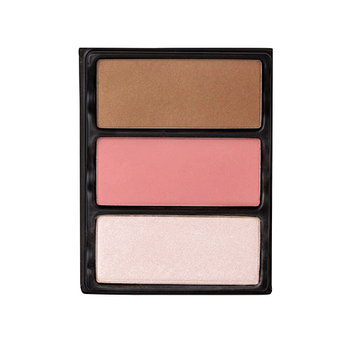 Viseart Theory I Blush; Bronzer And Highlighter Palette 3 Enamored