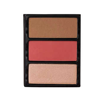 Viseart Theory II Blush; Bronzer And Highlighter Palette 3 Ablaze