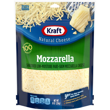 Kraft Shredded Mozzarella Natural Cheese