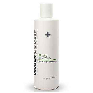 Vivant Skin Care BP 3% Acne Wash