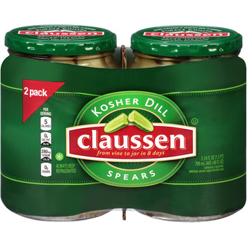 Claussen Kosher Dill Spears Pickles