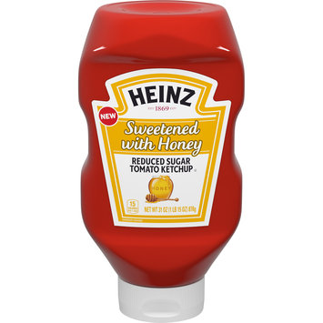 Heinz Sweetened with Honey Reduced Sugar Tomato Ketchup