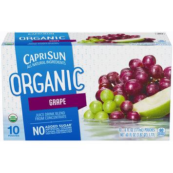 Capri Sun Organic Grape Juice Drink