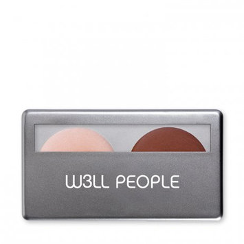W3LL People Natural Contour Duo Foundation Universal Glow & Tan - 0.2 oz, Universal Glow & Natural Tan