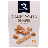 Macma Crispy Waffer Shapes 5.29 Oz