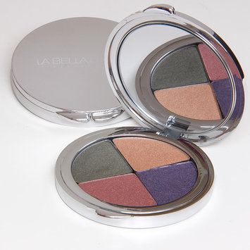 La Bella Donna - Eyeshadow Compact Colour Quad Down To Earth