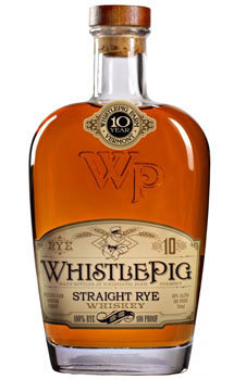 Whistlepig Straight Rye Whiskey 100 Proof