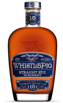 Whistlepig Straight Rye Vermont Oak 15 Year Old