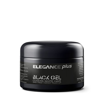 Elegance Hair Styling Gel Plus Black Color