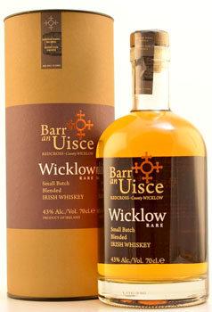 Barr an Uisce Irish Whiskey Small Batch Wicklow