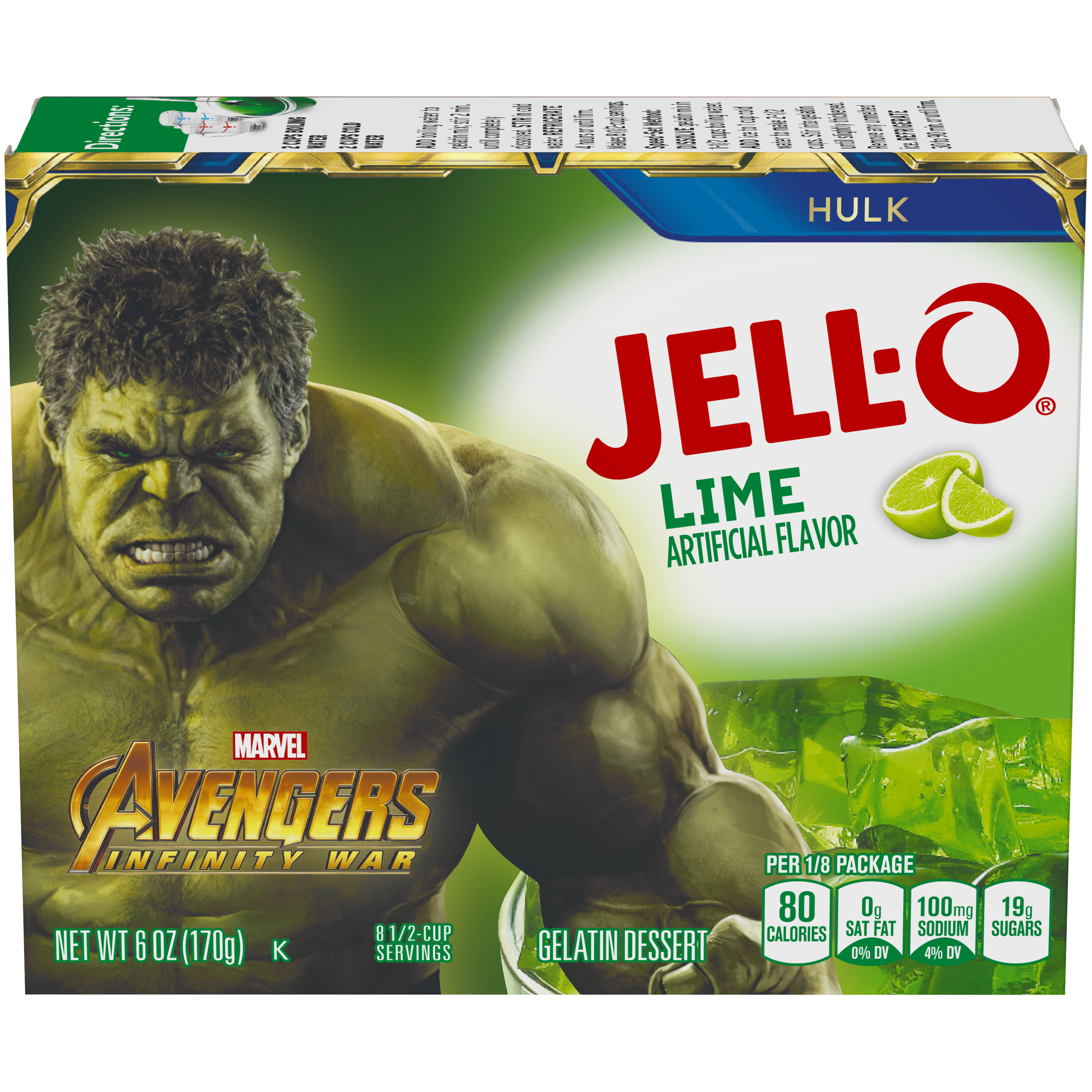 Jell-O Lime Gelatin Mix