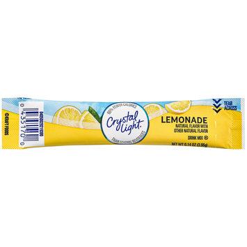Crystal Light On-The-Go Sugar Free Lemonade Drink Mix