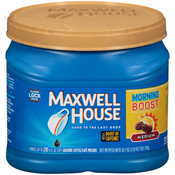 Maxwell House Morning Boost Ground Coffee