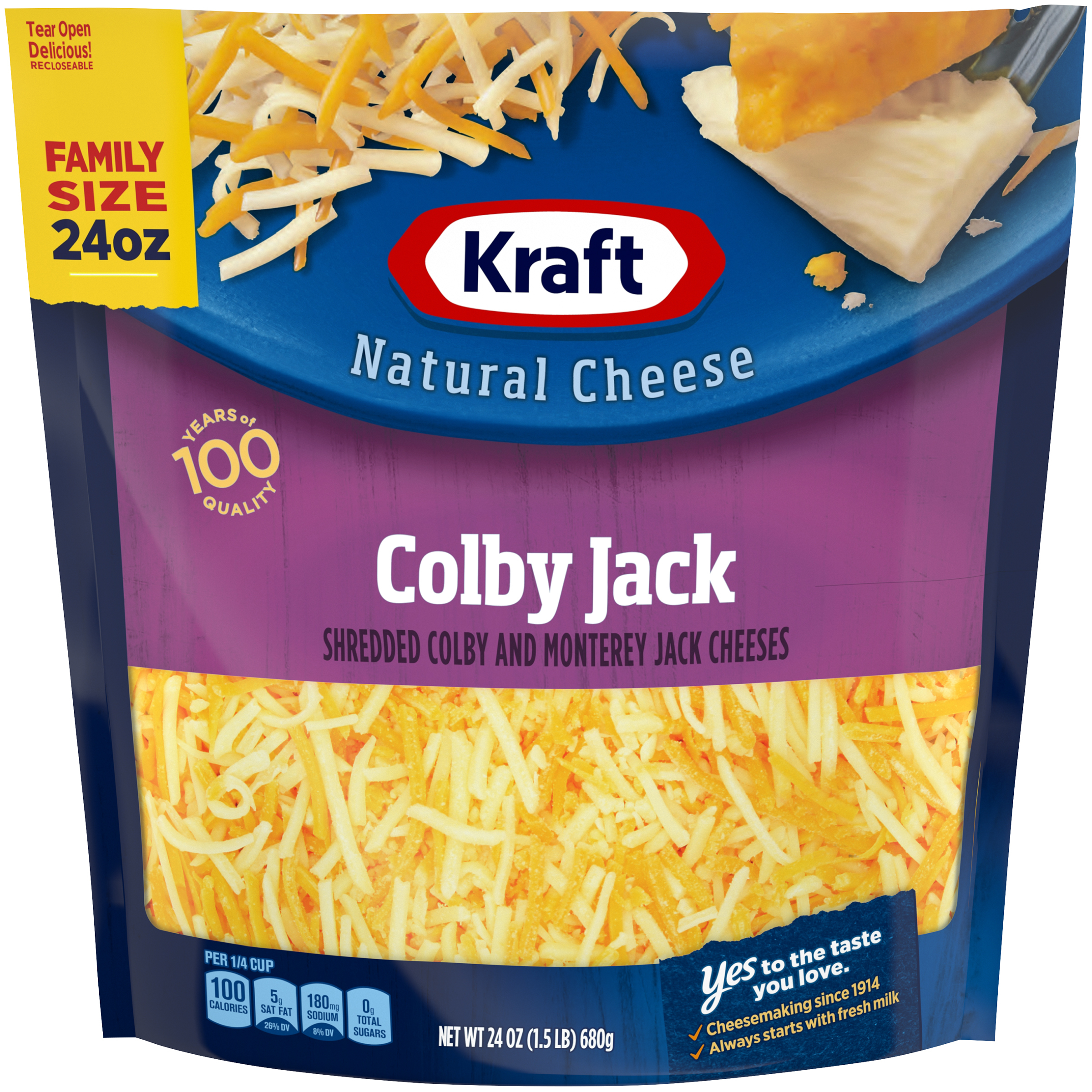Kraft Colby Jack Finely Shredded Natural Cheese