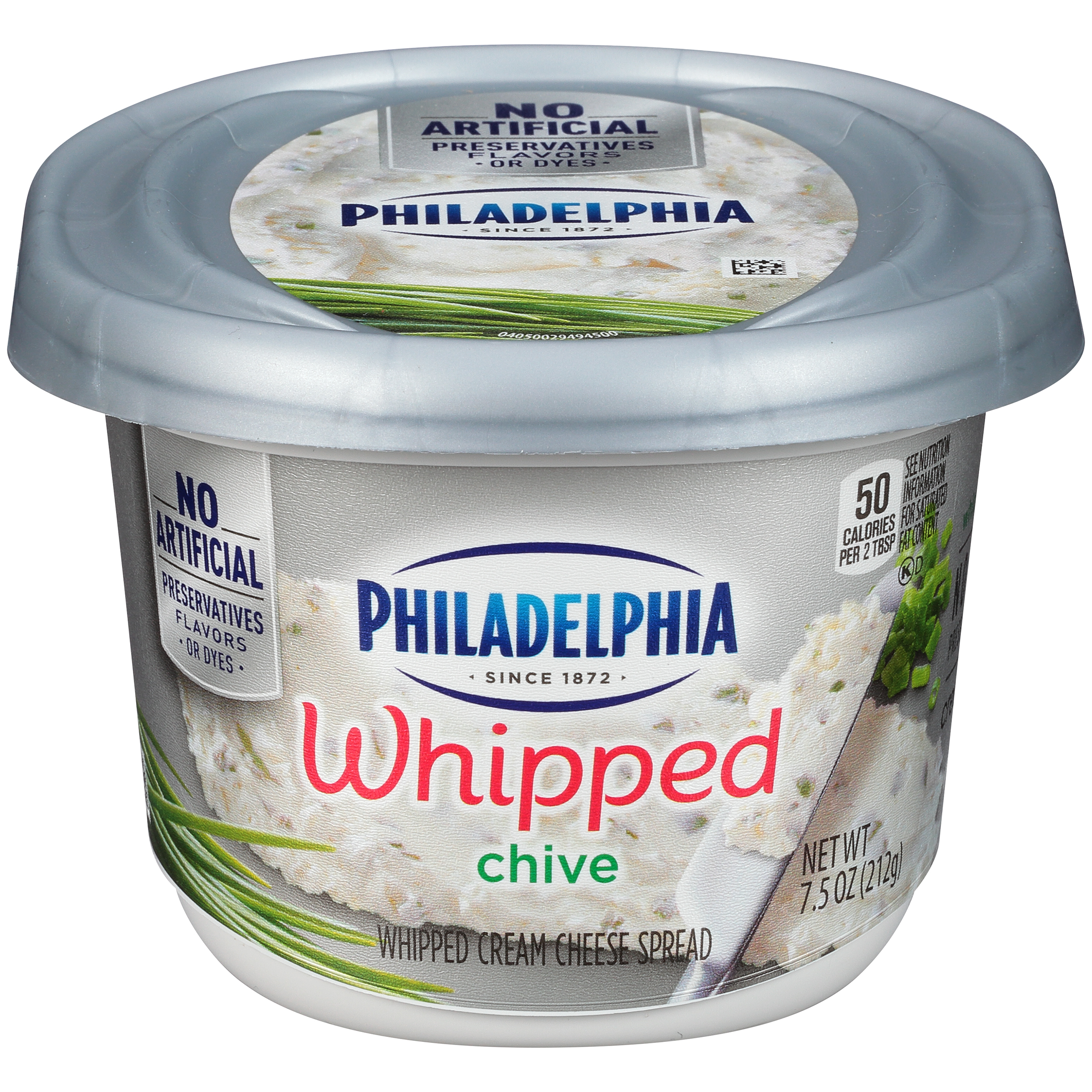 Philadelphia Chives Whipped Cream Cheese