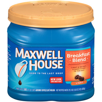Maxwell House Breakfast Blend Ground Coffee