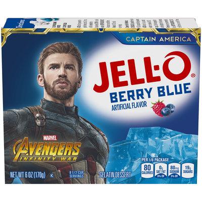 Jell-O Berry Blue Instant Powdered Gelatin Dessert