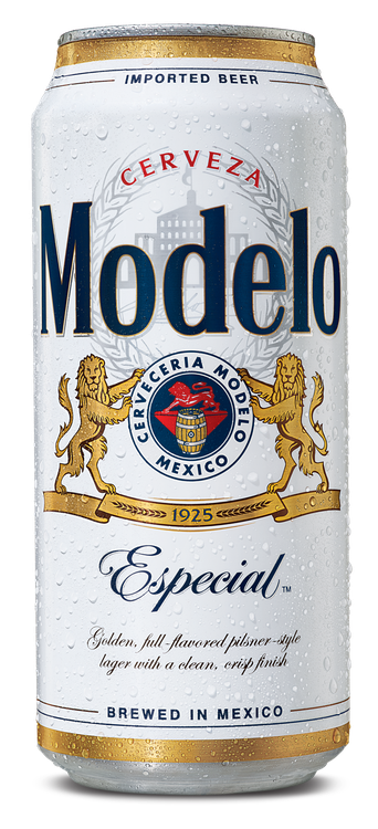 Modelo Especial Mexican Import Beer, 4 pk 16 fl oz Cans, 4.4% ABV
