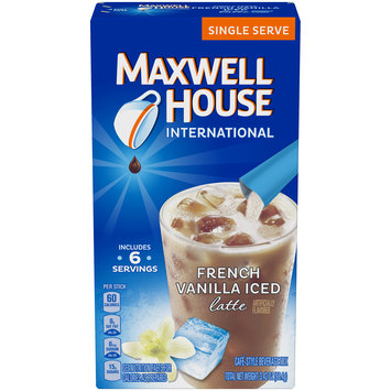 Maxwell House French Vanilla Iced Latte