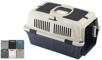 A & E Cage CD-4 Black 25 X 16 X 16 In. Deluxe Pet Carrier With Storage Compartment Case - 6