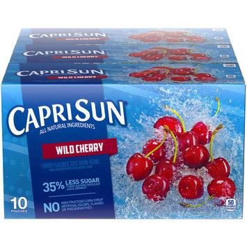 Capri Sun Wild Cherry Flavored Juice Pouches