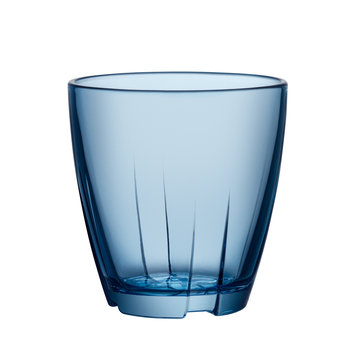 Kosta Boda Stackable Glass Tumbler (Set of 8)Water Blue - Small