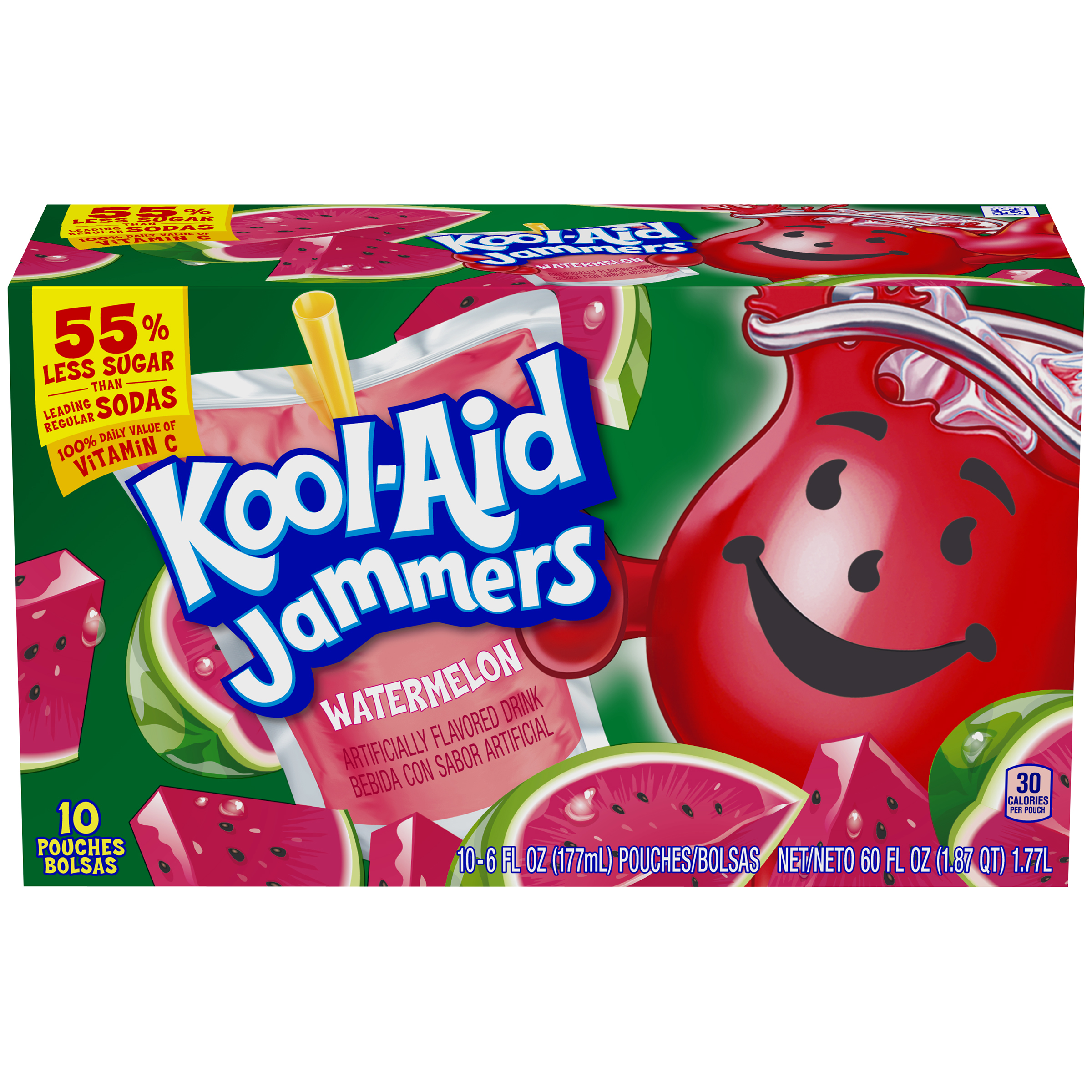 Kool-Aid Jammers Watermelon Ready-to-Drink Soft Drink