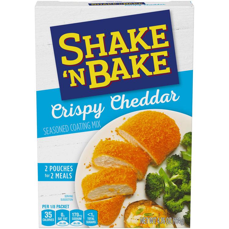 Shake 'N Bake Crispy Cheddar Seasoned Coating Mix