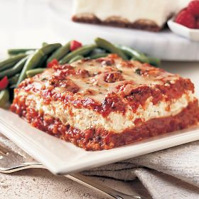Omaha Steaks 2 (24 oz. trays) Traditional Beef Lasagna