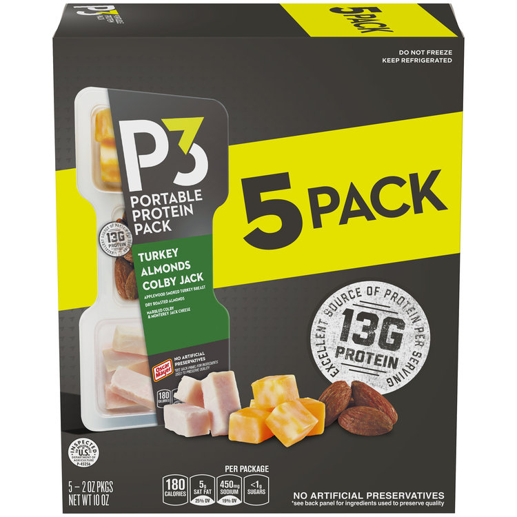 Oscar Mayer P3 Turkey & Cheese Portable Protein Pack