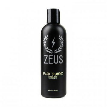 Zeus Beard Shampoo Wash 8 fl oz, Sandalwood