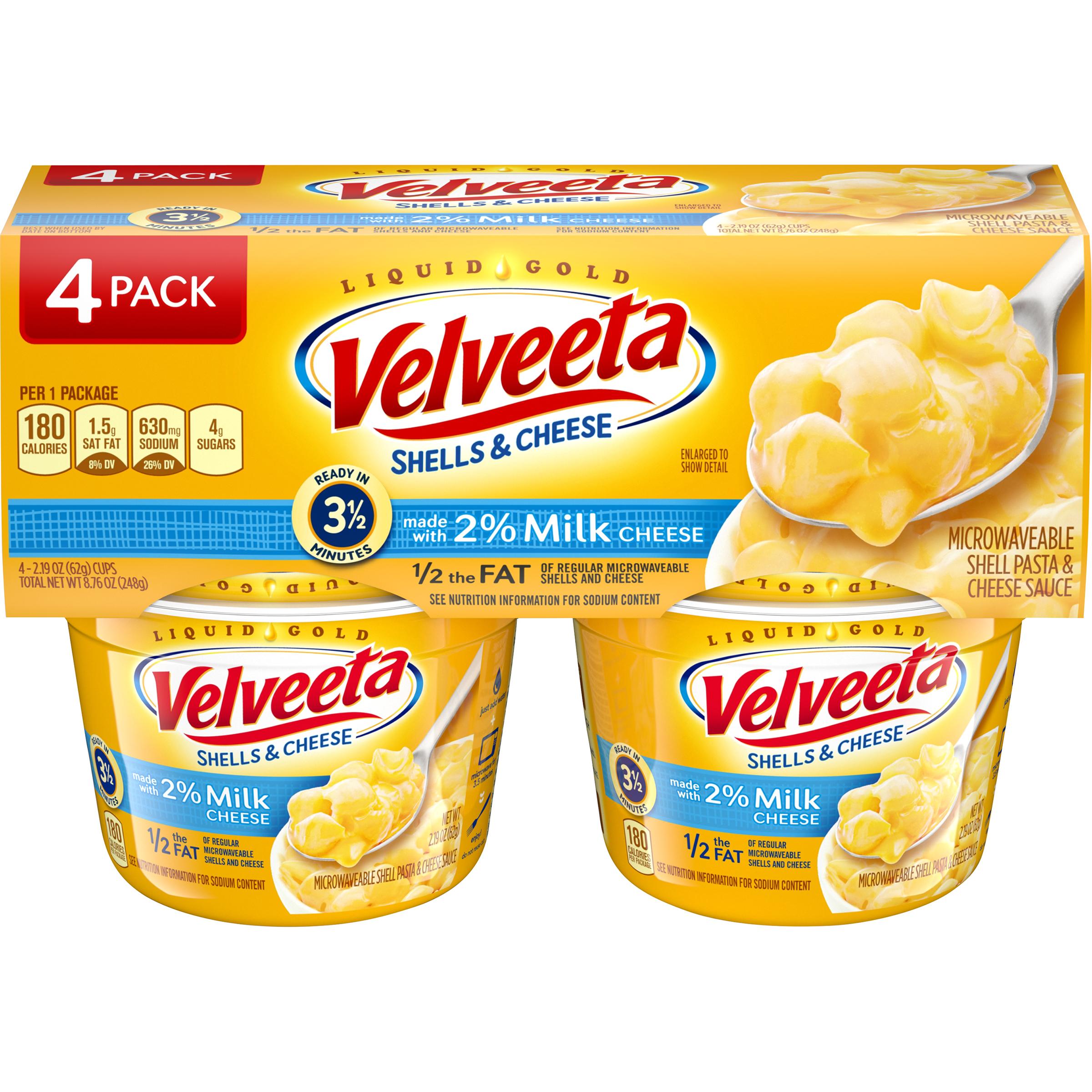 Velveeta Shells & Cheese Made with 2% Milk Cheese