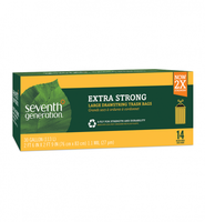 Seventh Generation Extra Strong Large Drawstring Trash Bags