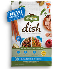 Rachael Ray™ Nutrish® DISH Grain Free Chicken & Potato Recipe with Veggies & Fruit