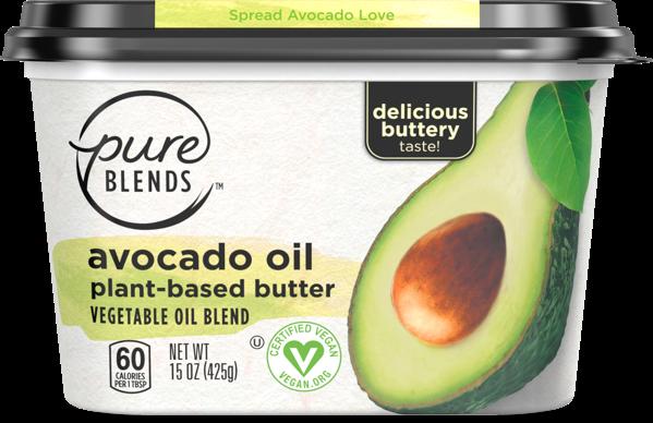 Pure Blends Avocado Oil Buttery Spread